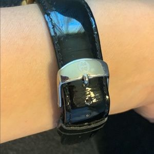 Authentic Michele leather band
